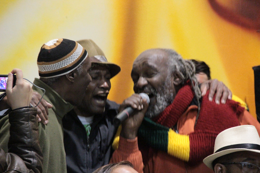 Mestres Lumumba e Simpĺicio