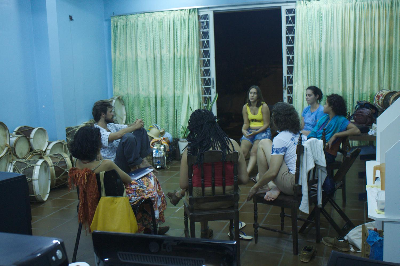 preparação das ações do mais cultura no Deriggi